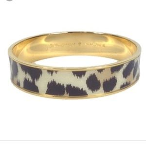 KATE SPADE | Leopard Paper Bangle NWT